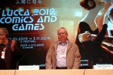 Andrzej Sapkowski gościł na Lucca Comic-Con we Włoszech.