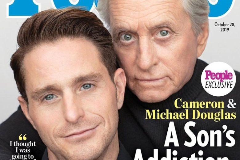 """Michael Douglas w rozmowie z magazynem """"People"""" opowiedział o uzależnieniu narkotykowym syna"""